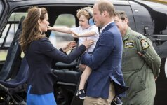 """Princo George'o nuotraukas pamatę gerbėjai paklaiko: berniukas pramintas """"monarchų monstru"""""""