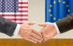 Baltieji Rūmai tebesitiki šiemet užbaigti derybas dėl JAV ir ES laisvosios prekybos