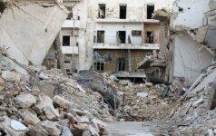 JAV vadovaujamos koalicijos antskrydžiai Sirijoje pražudė 35 civilius