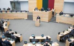 Seimas suteikė karinių instruktorių misijai Ukrainoje tarptautinės operacijos statusą