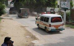 Pakistane per naują sprogdinimą žuvo mažiausiai 5 žmonės, apie 15 sužeisti