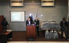 Rumunijos teisėsauga skelbia lietuvių pavardes, kurie įtariami gabenę 2,5 tonos kokaino