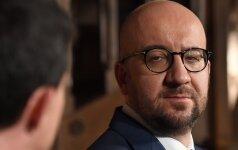 Belgijos premjeras sako negalįs pasirašyti ES ir Kanados laisvosios prekybos sutarties