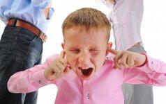 Kaip iš tiesų jaučiasi vaikas, kai skiriasi jo tėvai? Psichologės patarimai