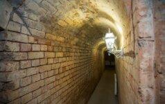 XIX a statyti tuneliai kuo puikiausiai išsilaikė