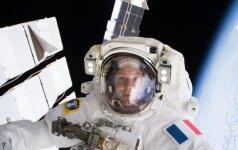 Astronautas Thomas Pesquetas