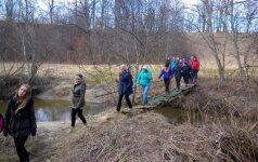 Kviečia į pėsčiųjų žygį žiemos takais