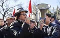 Kirgizijoje kilo protestas