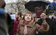 Minske vyko eisena prieš Astravo AE statybas