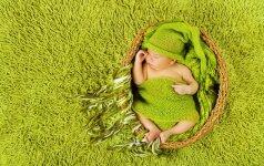 Jaudinantis VIDEO: fotografė įamžina miegančio sūnaus sapnus