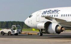 """""""airBaltic"""" pradės skrydžius iš Rygos į Abu Dabį"""