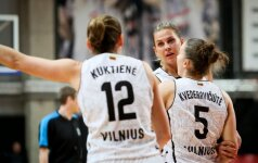 """Moterų Eurolygoje – L. Pikčiutės dvigubas dublis ir """"Kibirkšties-VIČI"""" pergalė"""