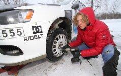 D. Butvilas pabrėžia, kad padangos žiemos metu ypač svarbios