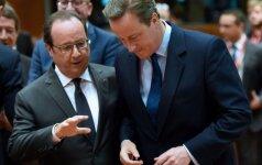 """ES viršūnių susitikime D. Britanijai suteikta laiko apsvarstyti padėtį po """"Brexit"""" referendumo"""
