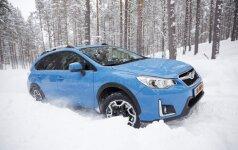 Pirmosios kartos Subaru XV gaminamas nuo 2012 m.