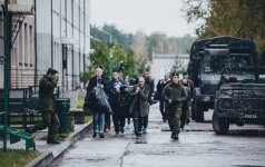 Lietuvai prisieks paskutinieji šių metų šauktiniai
