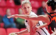 """Moterų Eurolyga: """"Kibirkšties-VIČI"""" merginos tiki, jog gali sugrįžti į pergalių kelią"""