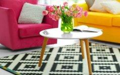 Netikėta: skandinavai baltą minimalizmą iškeičia į ryškias spalvas