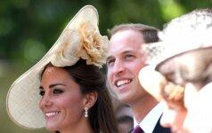 SVEIKINAME: šiandien ypatinga diena Kates Middleton ir princo Williamo šeimai FOTO