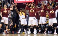"""""""Cavaliers"""" pasiekė visų laikų NBA tritaškių rekordą ir nutupdė """"Hawks"""""""