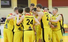 """Tauragės ir """"Omegos"""" komandos sėkmingai pradėjo RKL pusfinalį"""
