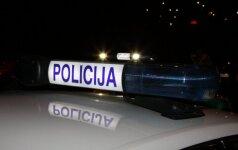 Panevėžio policija ieško pabėgusio vairuotojo