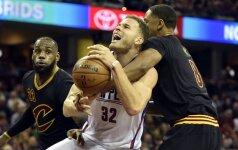 """Pakrikusius NBA čempionus sutriuškino """"Clippers"""""""
