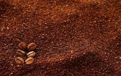 Gudrybės, kaip originaliai panaudoti kavos pupeles ir tirščius
