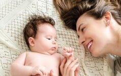 Ar naujagimis pažįsta mamą ir tėtį?