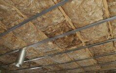 Darau Pats: kiek atsieina stogo apšiltinimas
