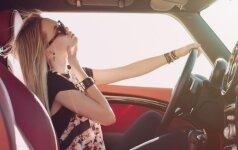 Dalykas, kurį būtina pasitikrinti automobilyje prieš vasarą