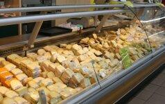 Lietuvoje pabrango sviestas ir sūriai