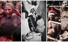 Medicina senovėje: dezinfekavo gyvsidabriu, statė tabako klizmas, nuleisdavo kraują, GYDĖ KANIBALIZMU
