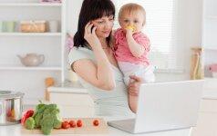 5 patarimai perkantiems mobiliąją auklę apklausa
