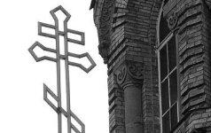 Kijeve vandalai bandė padegti Maskvos patriarchato Ukrainos ortodoksų cerkvę