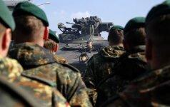 Vokietija didins savo karių skaičių