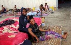 Libijoje mirė 13 migrantų, kurie kelias dienas buvo uždaryti krovinių konteineryje