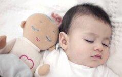 Islandų psichologės išradimas, kad vaikas visą naktį ramiai miegotų