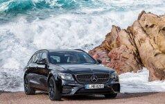 Naujos kartos Mercedes-AMG E43 4Matic universalas