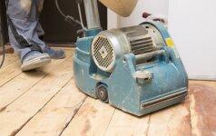 Medinių grindų restauravimo principai