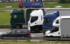 Sunkvežimiai (asociatyvi nuotr.)