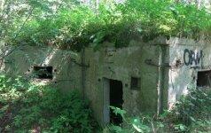 Slėptuvė pajūrio regioniniame parke