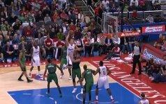 NBA TOP-10: J. Valančiūno firminis dėjimas nublanko prieš monstrišką B. Griffino skrydį per varžovą