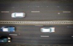 Rytų Lietuvoje eismo sąlygas sunkina plikledis