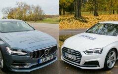 Volvo S90 ir Audi A5 Coupe