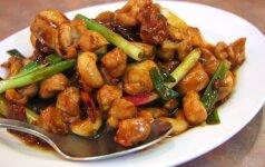 Kinų virtuvė: labai gardi vištiena su daržovėmis