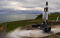 Naujojoje Zelandijoje išbandyta raketa pasiekė kosmosą, bet ne orbitą