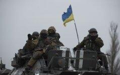 Rytų Ukrainoje intensyvėja susirėmimai