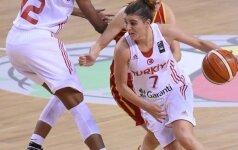 Europos krepšinio čempionato antrą etapą pergalėmis pradėjo turkės, čekės ir prancūzės