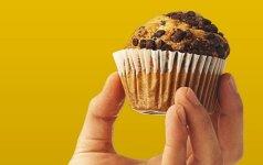 NAKTINIS DESERTAS: gardžiausias keksas per minutę – vos 160 kalorijų!